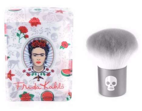 Mexican Painter-Inspired Makeup Brushes