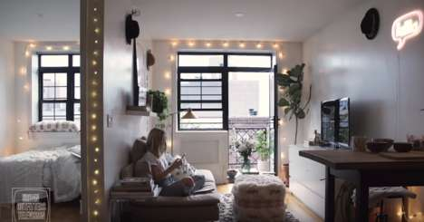 Influencer Apartment Decor Tips - Viktoria Dahlberg is Featured on Urban Outfitters' 'Room Refresh'