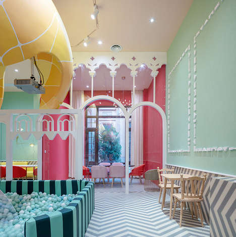 Whimsical Play-Integrated Eateries - Neobio Kids Restaurant Caters to Parents and Children