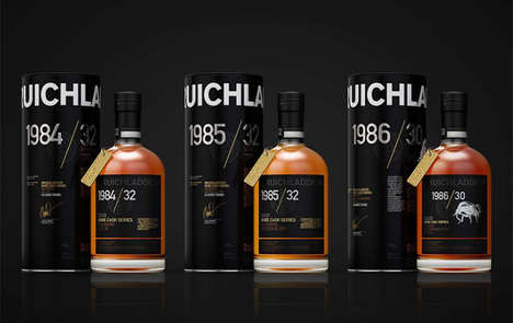 "Ultra-Rare Aged Whiskies - Bruichladdich's Scotch Whiskies are Branded as ""The Last of Their Kind"""