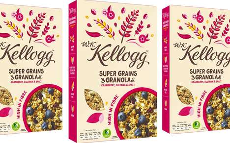 Mainstream Artisan Cereals - The W.K.Kellogg Cereal Line Targets Health-Conscious Consumers