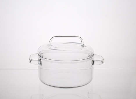 Transparent Cooking Appliances - Huy Pham Designed Three Beautiful Transparent Cooking Pots