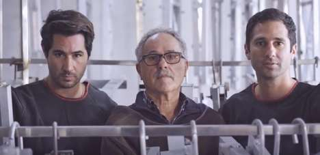 Familial Design Films - Restoration Hardware's 'Bending the Tube' Ad Features The Condos Brothers