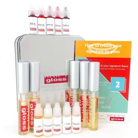DIY Lipgloss Kits - Mixify Polish Lets Consumers Create Custom Beauty Essentials