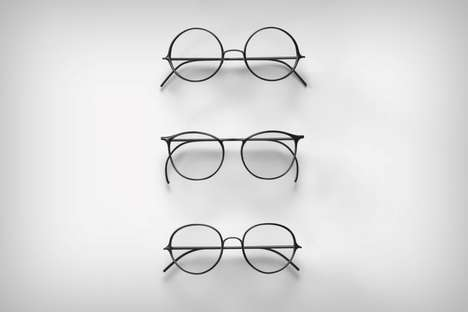 Typographical Eyewear Collections - These Glasses by Maggie Seah Draw Inspiration from Digital Text