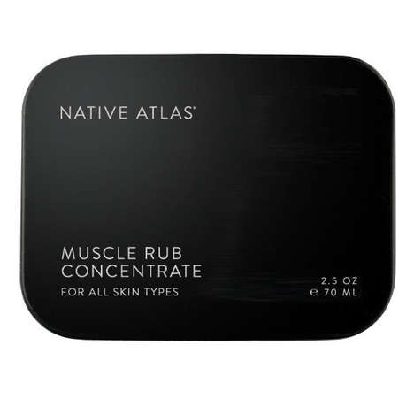 Healing Muscle Rubs - This Product by Native Atlas Relaxes and Relieves Sore Muscles