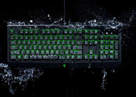 Precision Waterproof Keyboards - The Razer BlackWidow Ultimate Gaming Keyboard is Fiercely Rugged