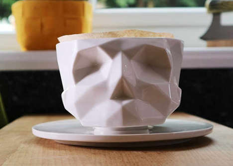 Geometrical Anatomy Coffee Makers