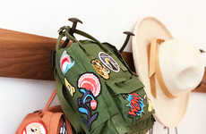 Embroidered Backpack DIYs
