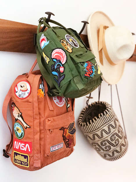 Embroidered Backpack DIYs - Honestly WTF's DIY Backpack Patch Work Mimics Expensive Designer Pieces