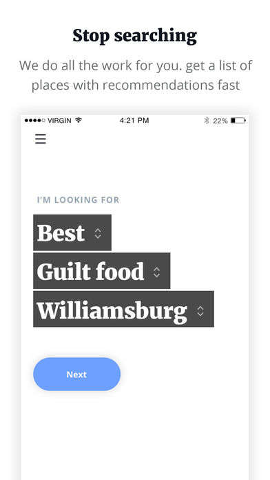Curated Food-Finding Apps