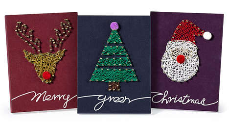 Crafty Holiday Packaging - Innisfree's String Art Kits are a Family-Friendly Gift with Purchase