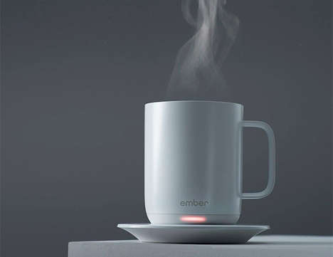 App-Controlled Coffee Cups - The Ember Ceramic Mug Keeps Drinks at the Optimal Temperature