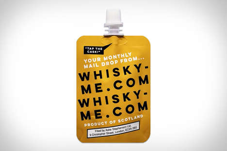 Hand-Selected Libation Subscriptions - The Whiskey Me Subscription Service Costs as Little as $8