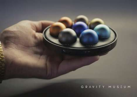 Interplanetary Desktop Toys - The 'Gravity Museum' Toys Let You Compare Planet Size and Weight