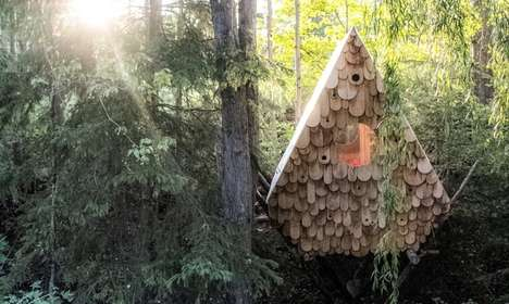 Chic Birdhouse-Inspired Hideaways