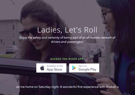 Australian Women's Rideshare Services - SheBah Offers Users Safe and Convenient Transportation