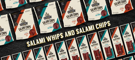 Artisanal Cured Meat Snacks - The Piller's Fine Foods Salami Chips and Whips are High-Quality
