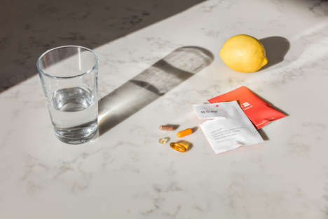 Chic Personalized Vitamin Startups - Care/Of Enables Individuals to Curate Daily Vitamin Packs