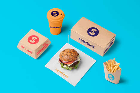 Journey-Focused Delivery Services - SendEAT's Food Delivery Service Tracks Meals in Real-Time