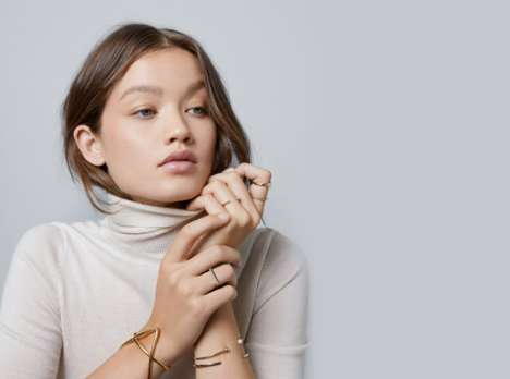 Luxury Millennial-Friendly Jewelry Shops - Aurate Jewelry Puts a Millennial Twist on Jewelry Buying