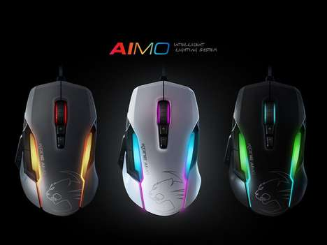 Illuminated Tech Accessories - ROCCAT Releases a 10-Year Anniversary Installment of its Kone Mouse
