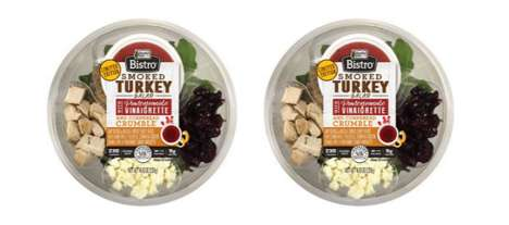 Festive Autumnal Salad Bowls - The Ready Pac Smoked Turkey Salad Bistro Bowl is a Healthy Choice