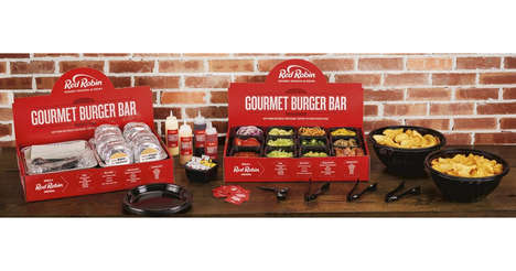 Holiday Burger Bar Kits - Red Robin Has a Special Turkey Burger Bar Promotion for Friendsgiving