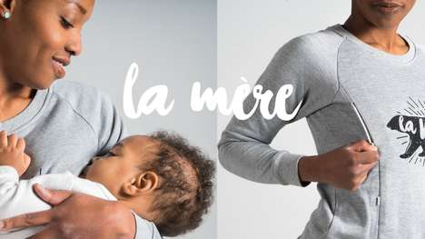 Nursing Clothing Collections - La Mere Clothing Makes Stylish, Functional Fashion for Breastfeeding