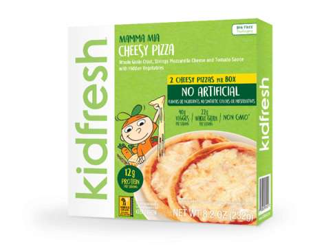 Veggie-Rich Kids Meals - Kidfresh's Comfort Foods are Packed with Hidden Vegetable Ingredients