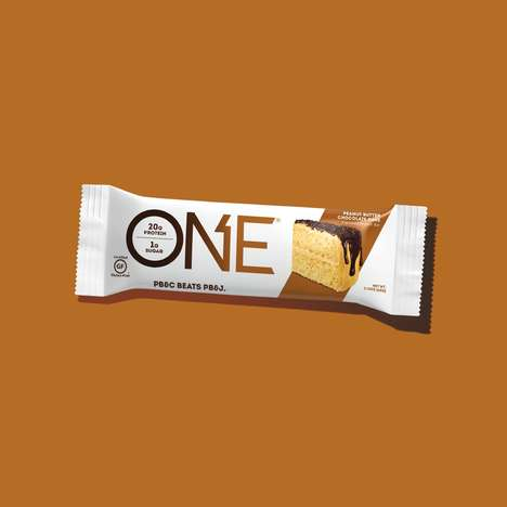 Cake-Flavored Protein Bars - ONE Bars' Peanut Butter Chocolate Cake Bar Boasts 20 Grams of Protein
