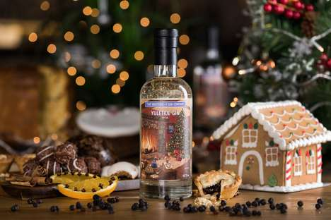 "Ultra-Festive Gin Spirits - That Boutique-y Gin Company's Yuletide Gin is ""Distilled Christmas"""