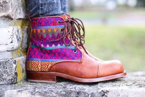 Heritage-Inspired Footwear Brands - Teysha's Fair Trade Shoes are Crafted by Latin American Artisans