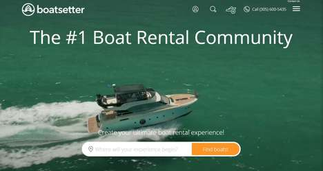 Boat Rental Communities - 'Boatsetter' is a Sharing Economy Platform for Seafarers