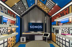 Living Room-Styled Stores - Sonos' Concept Store in London is a Comfortable Listening Space