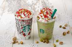 Artful Coffee House Collaborations - Starbucks Japan and Lauren Tsai Paired for an Artful Campaign