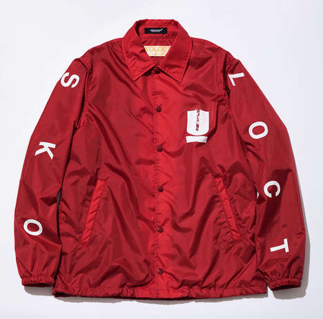 Japanese Art-Integrated Streetwear - Skoloct's Work Was Included on the New UNDERCOVER Collection