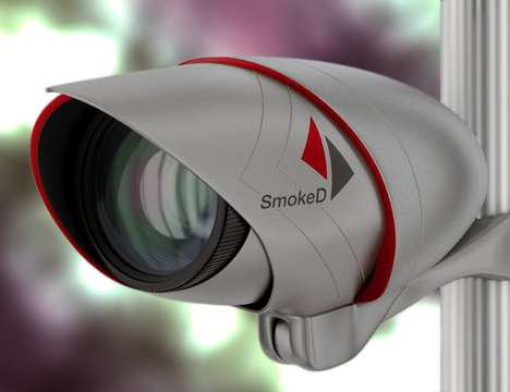 AI Fire-Detecting Cameras - The 'SmokeD' Fire Camera Protects Your Home and the Community