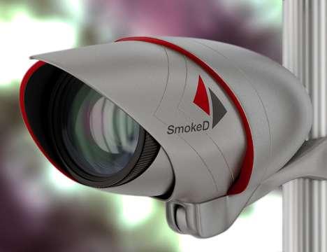 AI Fire-Detecting Cameras