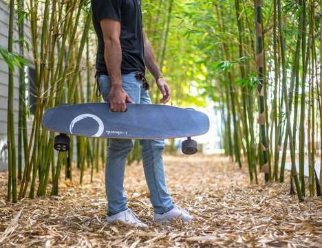 Premium Electric Commuter Skateboards - The 'ionboard' Skateboard Offers 12 Miles of Range