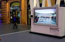 Appliance AR Advertisements - AEG's 'Magic Mirror' Immerses Consumers in Fantastical AR Experiences