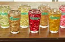 Aguas Fresca Fountain Drinks - The Barrilitos Aguas Frescas Line Puts a Twist on a Mexican Classic