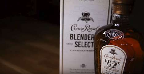 Limited-Release Canadian Whiskies - The New 'Crown Royal Blender's Select' is Exclusive to Ontario