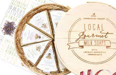 Cheese-Shaped Soaps - FarmHouse Fresh's Soaps are Packaged Like a Gourmet Cheese Wheel
