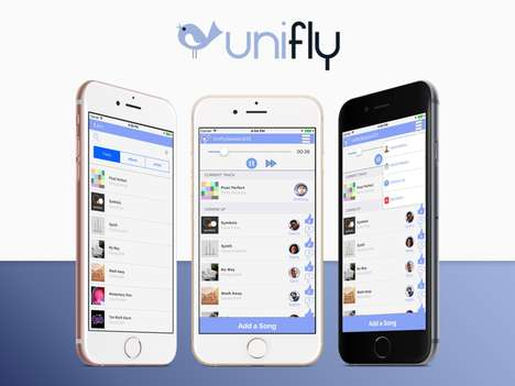 Social Music Streaming Apps - Unifly Music Helps You Host and Join Listening Parties from Anywhere