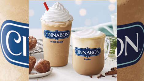 Cinnamon Bun-Flavored Coffees - The Tim Horton's Cinnabon Drinks Come in Two Options