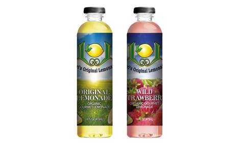 Prepackaged Organic Lemonades - The New Lori's Lemonade Flavors Draw Artisanal Inspiration
