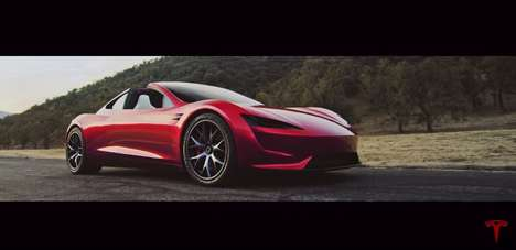 Record-Breaking Electric Vehicles - The Tesla Roadster Will Be the Fastest Production Car Ever