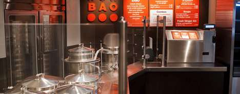Autonomous Bao Restaurants - 'Wow Bao' is Opening a Staffless Restaurant in Chicago