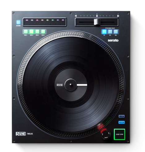 Needle-Free Vinyl Turntables - The Rane Twelve Turntable Lets DJs Create Live Remixes in Real Time